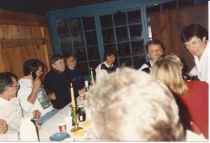Ärtsoppfest  i Jansengården 1990 (2)