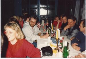 Ärtsoppfest i Jansengården 1990