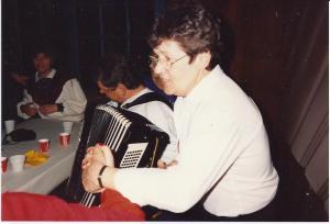 Majlis skunger i Jansengården 1990