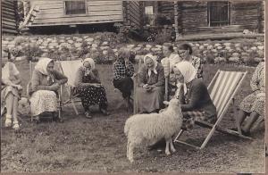 Kafferep på Janséngården  1942
