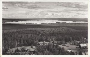 Utsikt över Orsasjön från Fryksås