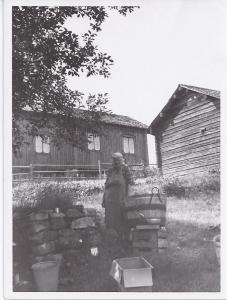Anna Lundgren, juli 1949