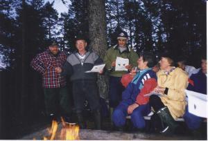 Framme vid Rädsjön, juli 1999