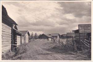 Fägatan, bild från nedre parkeringen