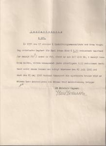 Lagfartsbevis för Karl Johan Blom