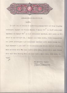 Lagfartsbevis för Torhild Hansson