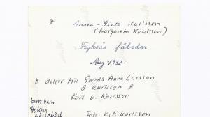 Anna-Greta Karlsson, aug 1932,0002