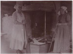Lydia Smids, omkring år 1918,  0001