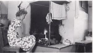 Margareta Knutsson, juli 1947