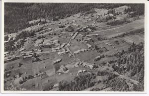 Fryksås hotell under uppbyggnad, 1931-32