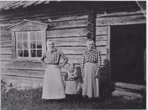 Kål Karin Andersdotter, dog i Fryksås 7 aug 1945, Anna och Aman