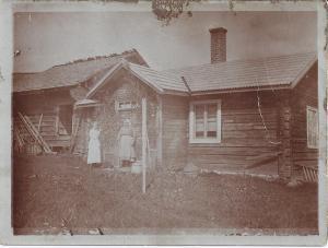 Kerstin Grund och Elsas mormor 1920 (243-2)